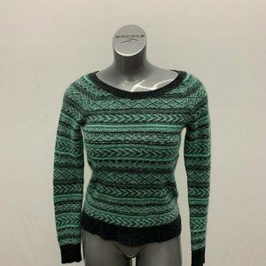 American Eagle Outfitters Sweaters - American Eagle Sweater Women's Small Green Black
